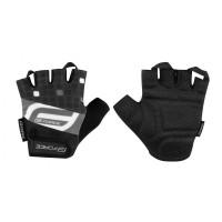 Ръкавици с къси пръсти Force Square - черни, L