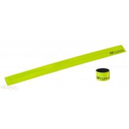 Светлоотразителна лента за крачол Force - жълта или бяла