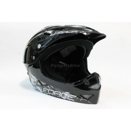 Каска Force Freeride Fullface - черна, S-M 54-58 см.