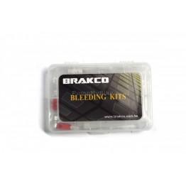 Комплект за обезвъздушаване Brakco HK3 - за всички видове спирачки