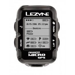Велокомпютър с GPS Lezyne Micro GPS