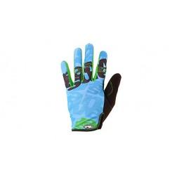 Ръкавици Answer Clash с дълги пръсти S - синьо-зелени
