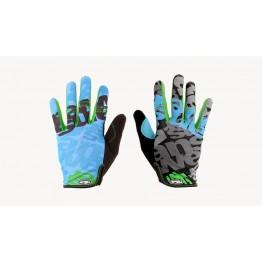 Ръкавици Answer Clash с дълги пръсти S , M , XL - синьо-зелени