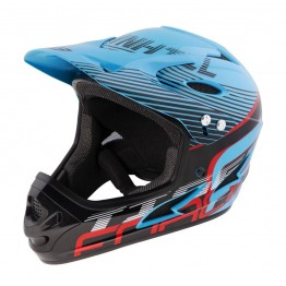 Каска Fullface Force Tiger DH - синя S-M
