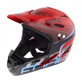 Каска Fullface Force Tiger DH - червена S-M