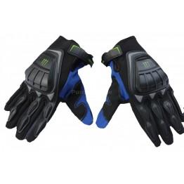 Ръкавици с протекция Monster Energy - сини