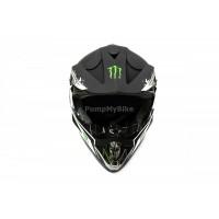 Каска FullFace Monster Energy - M - черен мат