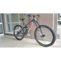 """Велосипед RAM Fusion 27,5"""" - сив - червен"""